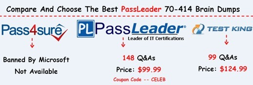 PassLeader 70-414 Brain Dumps[15]